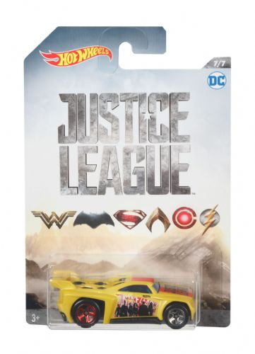 Hot Wheels Justice League Bassline